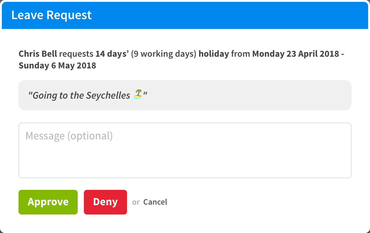Calendar, annual leave and HR integrations for RotaCloud